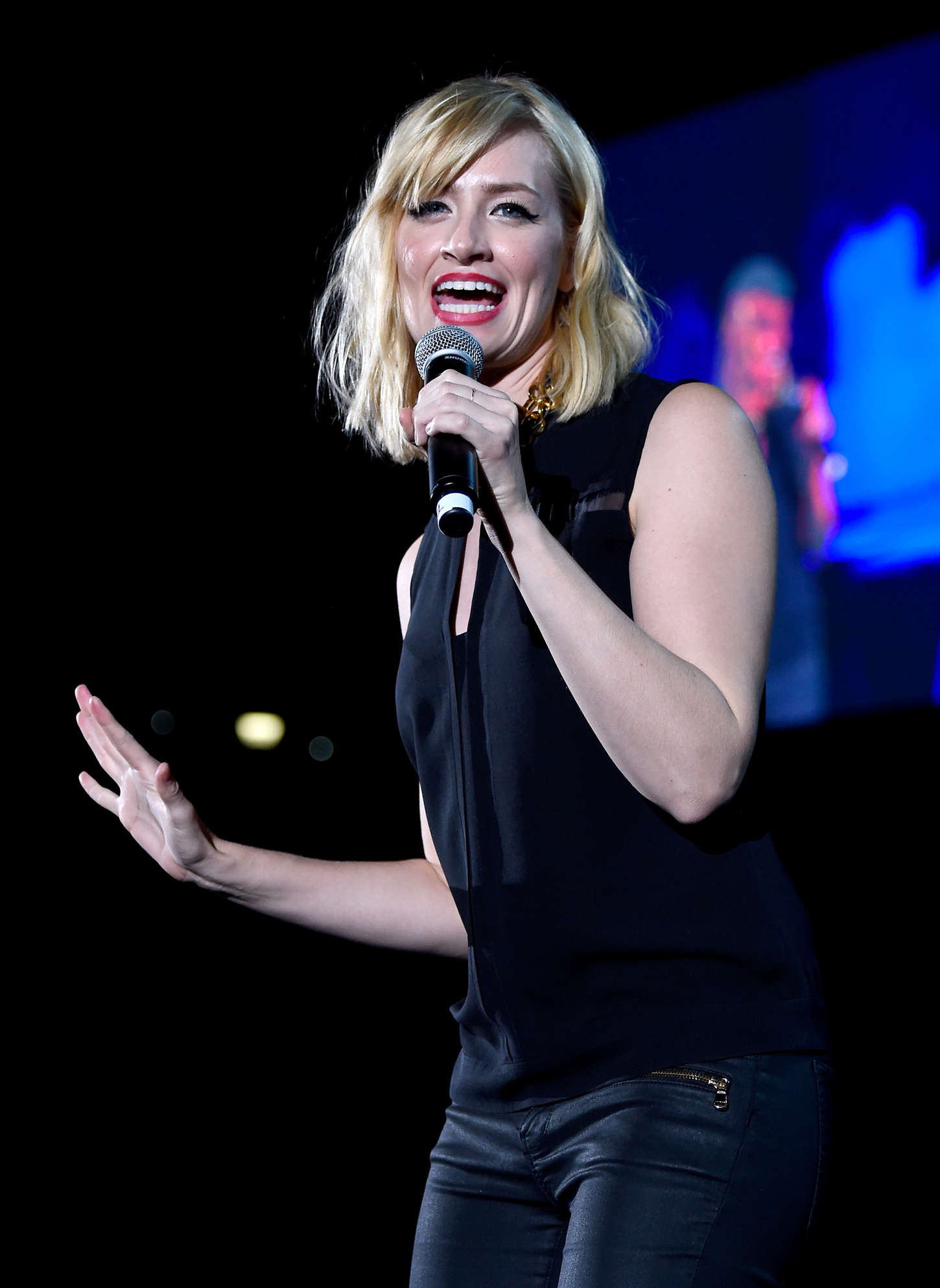 Beth Behrs - CBS Radio's 'We Can Survive' 2014 at the Hollywood Bowl in Los Angeles