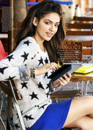 Bethany Mota - Seventeen Magazine (October 2014)