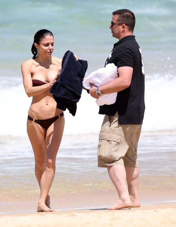 Bethenny Frankel 2013 : Bethenny Frankel in Bikini on vacation in Australia -13