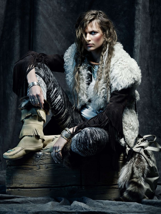 Bette Franke - Vogue Spain Magazine (November 2014)