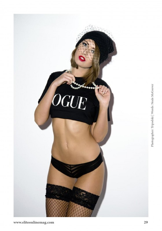 Bex Taylor: Elite Magazine 2013 -01