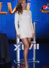 Beyonce at Super Bowl 2013 Halftime Show Press Conference -03