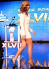 Beyonce at Super Bowl 2013 Halftime Show Press Conference -05