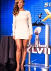 Beyonce at Super Bowl 2013 Halftime Show Press Conference -11