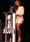 Beyonce at Super Bowl 2013 Halftime Show Press Conference -12