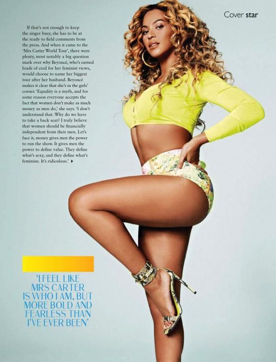 Beyonce: Cosmopolitan South Africa -02