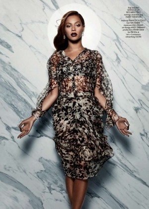 Beyonce - CR Fashion Book Issue 5 2014