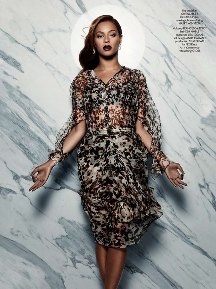 Beyonce – CR Fashion Book Issue 5 2014