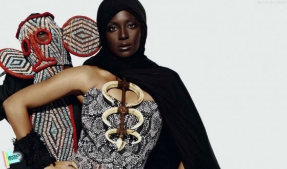 Beyonce goes back to her African roots in L'Officiel Paris