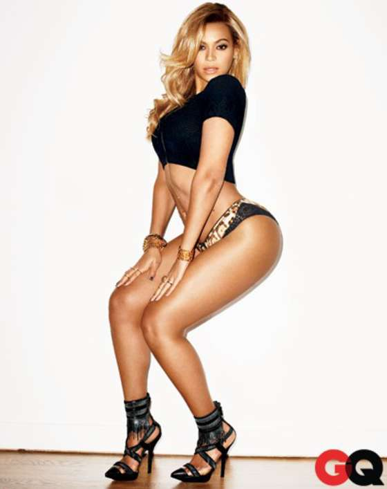 Beyonce - GQ Magazine Photoshoot February 2013