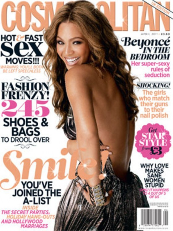 Beyonce Talks Sexiness in Cosmopolitan UK's April 2011 Issue
