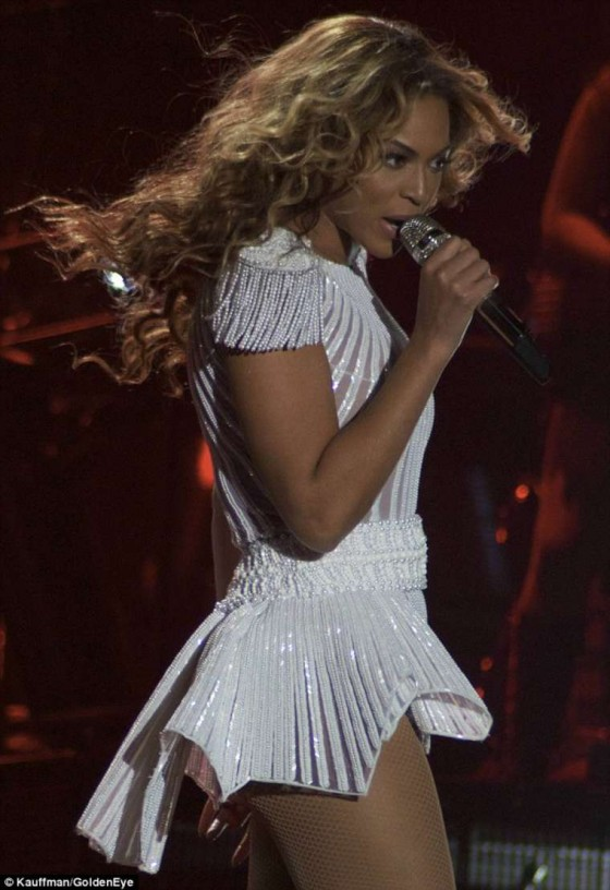 Beyonce Knowles - performing at the Kombank Arena in Belgrade -32