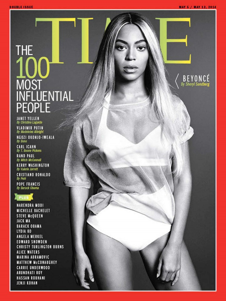 Beyonce Knowles – Time 2014