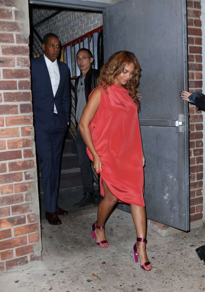 Beyonce out in New York City