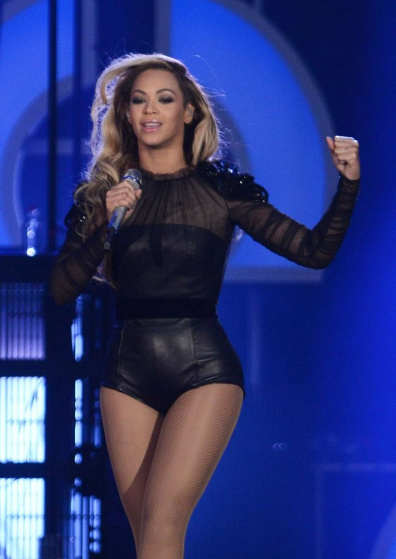 Beyonce – Performing at The Sound of Change in London