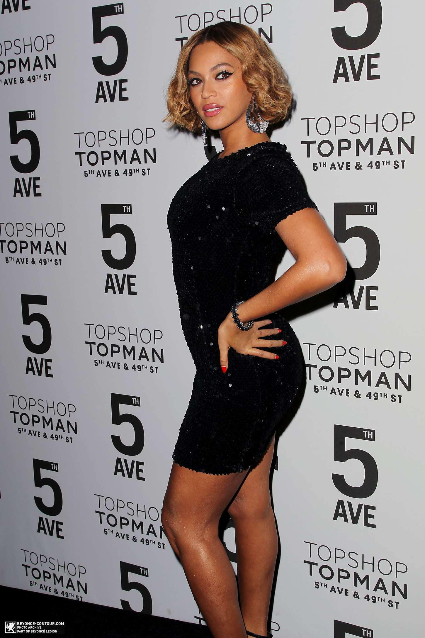 Beyonce - Topman Flagship Opening Dinner in NYC