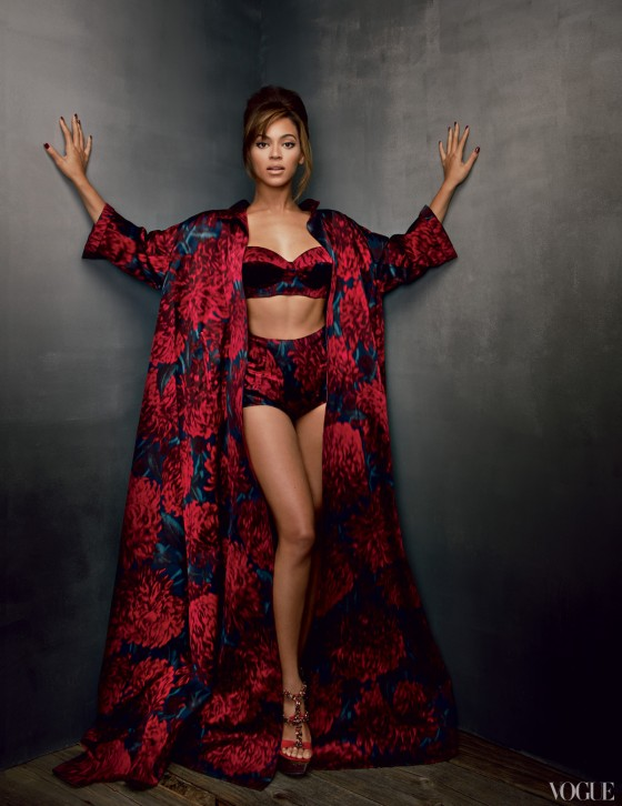 Beyonce – Vogue US Magazine – March 2013-05