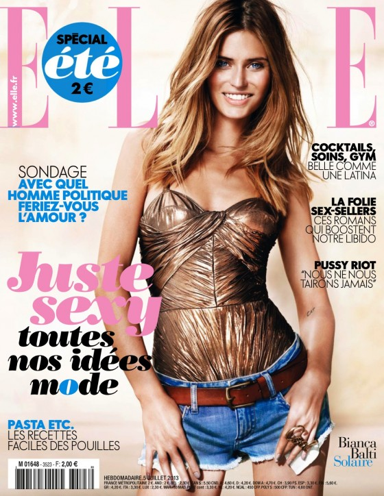 Bianca Balti – Elle France – July 2013 -01