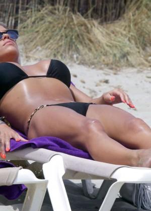 Bianca Gascoigne Bikini 2014 -05