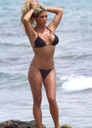 Bianca Gascoigne Bikini 2014 -07