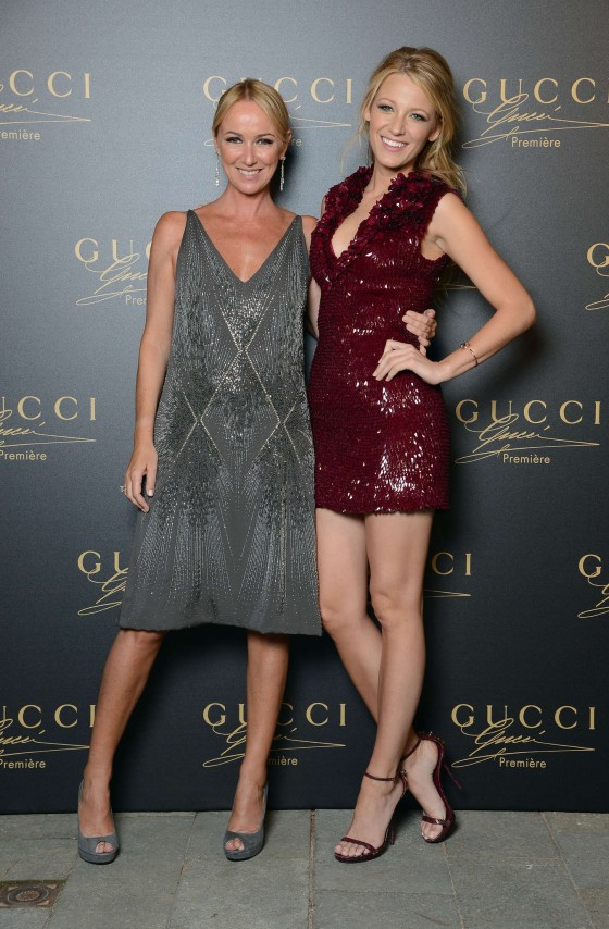 Blake Lively at Gucci Premiere fragrance in Venice, Italy