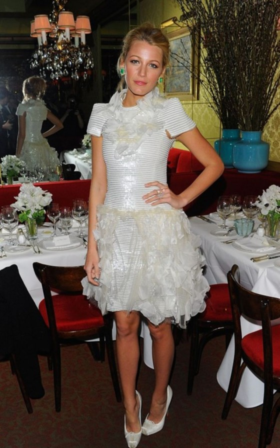 Blake Lively – Chanel Dinner Party