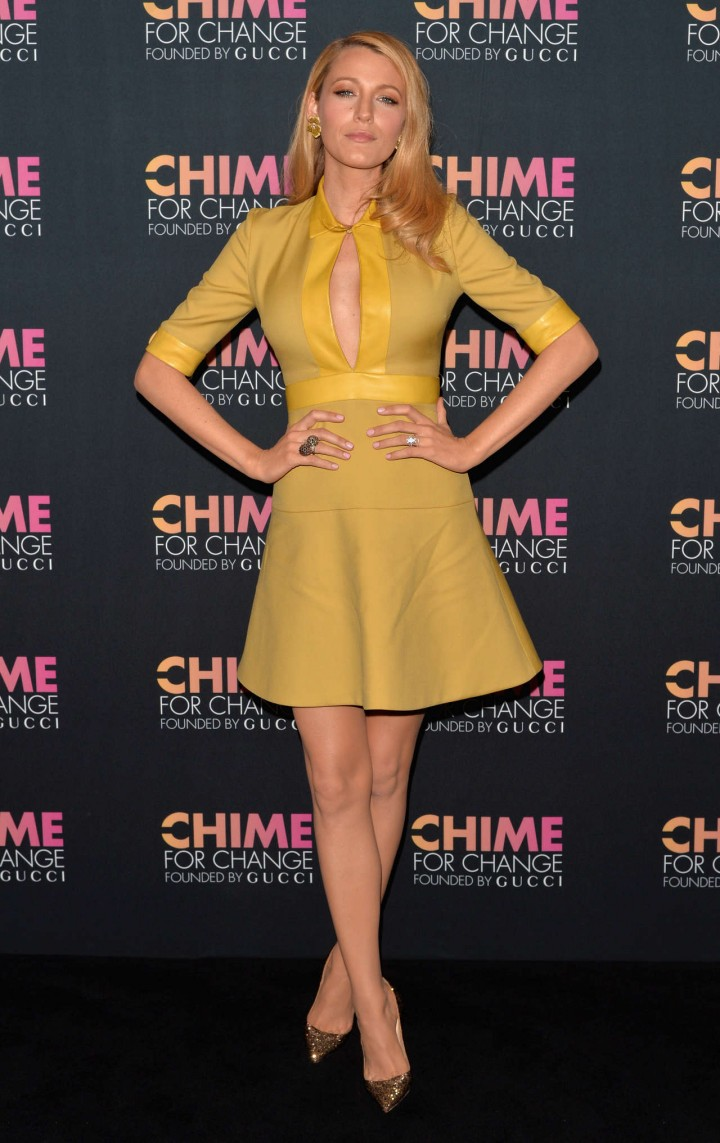 Blake Lively – Chime for Change One Year Anniversary Event