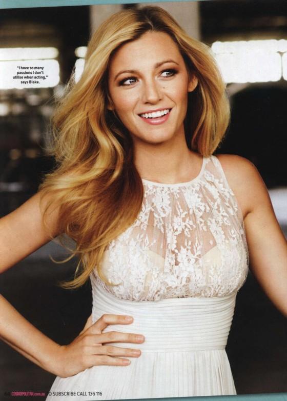 Blake Lively: Cosmopolitan Australia -01