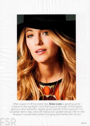Blake Lively: Elle Magazine -01