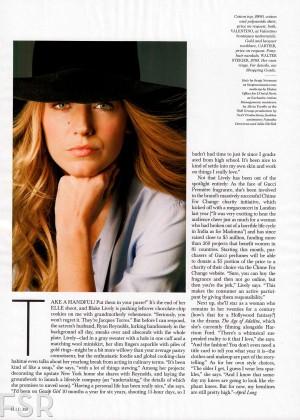 Blake Lively: Elle Magazine -02