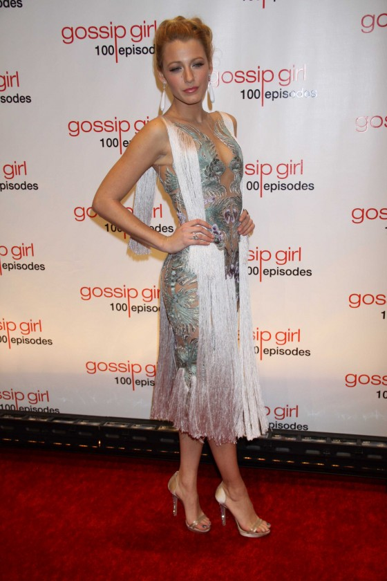 Blake Lively - Hot at Gossip Girl 100th Episode Celebration-07
