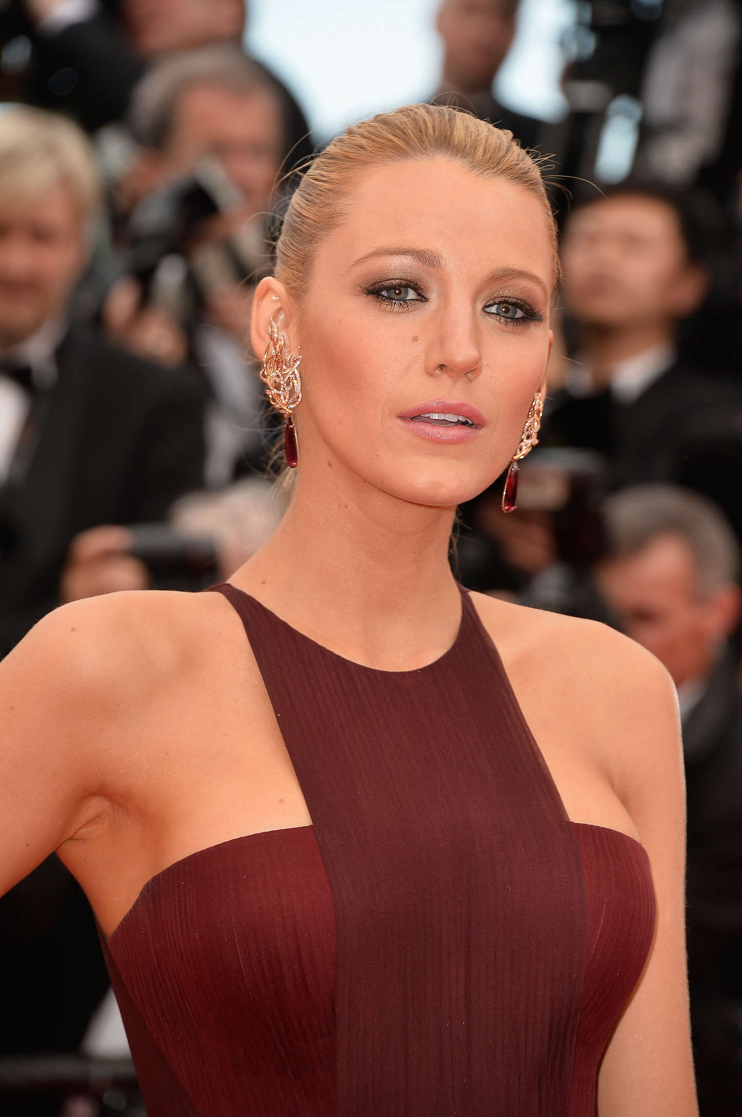 Blake Lively 2014 : Blake Lively: Grace of Monaco Cannes premiere-01