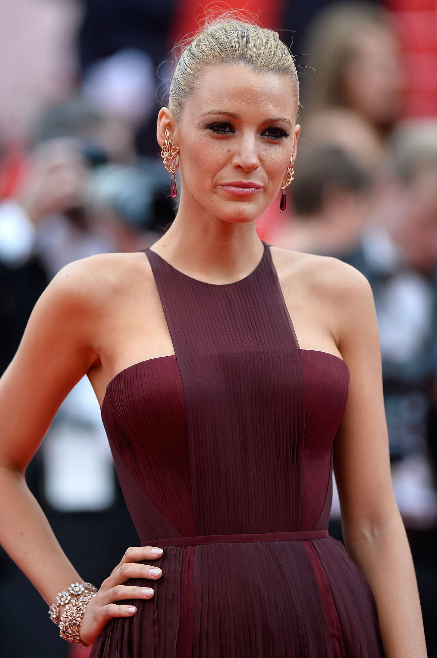 Blake Lively 2014 : Blake Lively: Grace of Monaco Cannes premiere-10