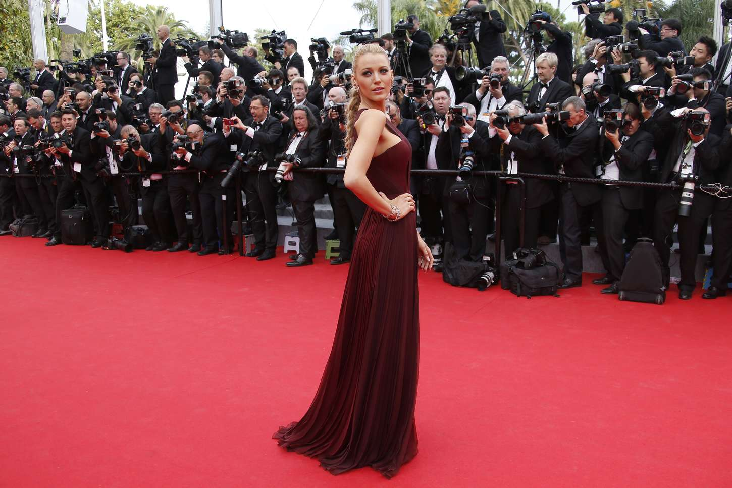 Blake Lively 2014 : Blake Lively: Grace of Monaco Cannes premiere-15