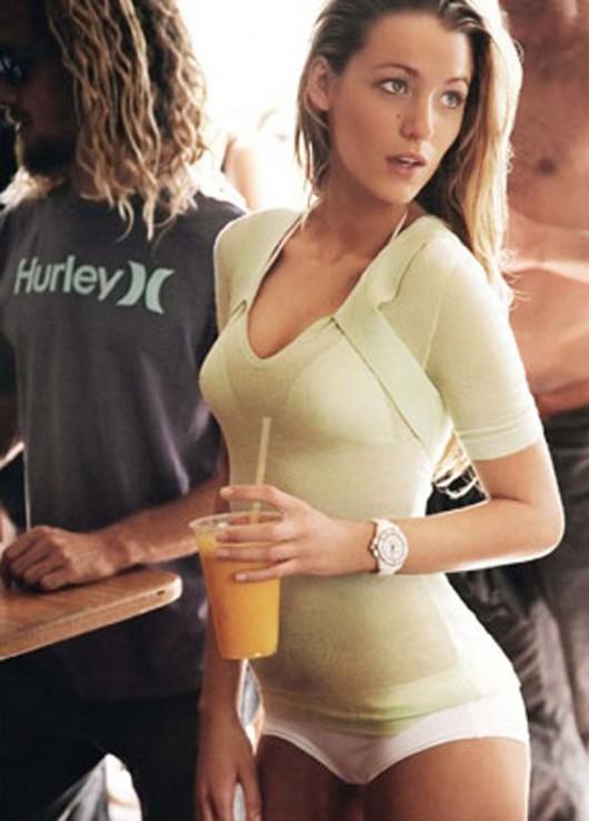 Blake Lively in a Bikini in Vogue – Issue June 2010