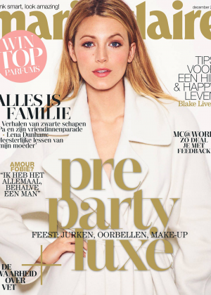 Blake Lively - Marie Claire Netherlands Magazine Cover (December 2014)