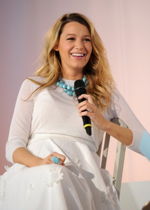 Blake Lively - Martha Stewart American Made Summit in NYC