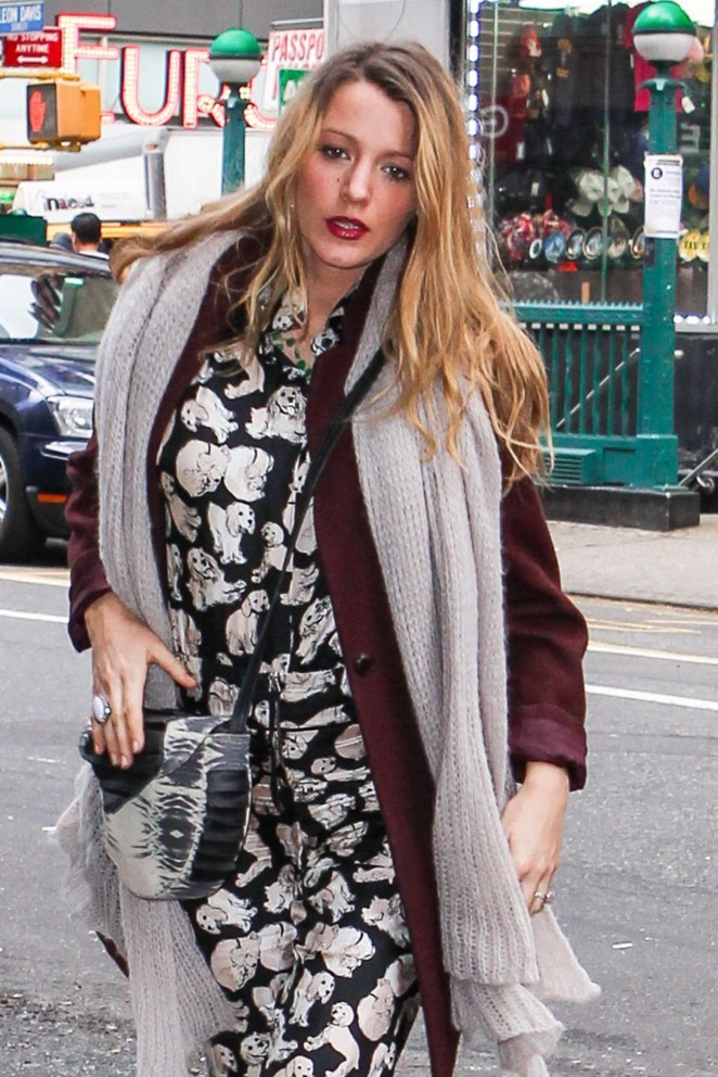 Blake Lively Out in NY -12