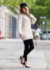 Blake Lively - Photoshoot candids in New York -39