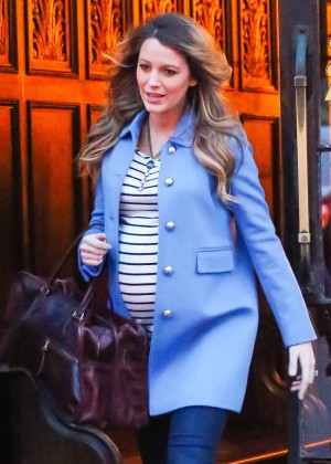 Blake Lively out in New York City
