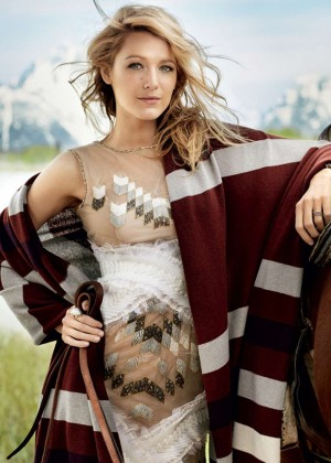 Blake Lively: Vogue Magazine 2014 -04