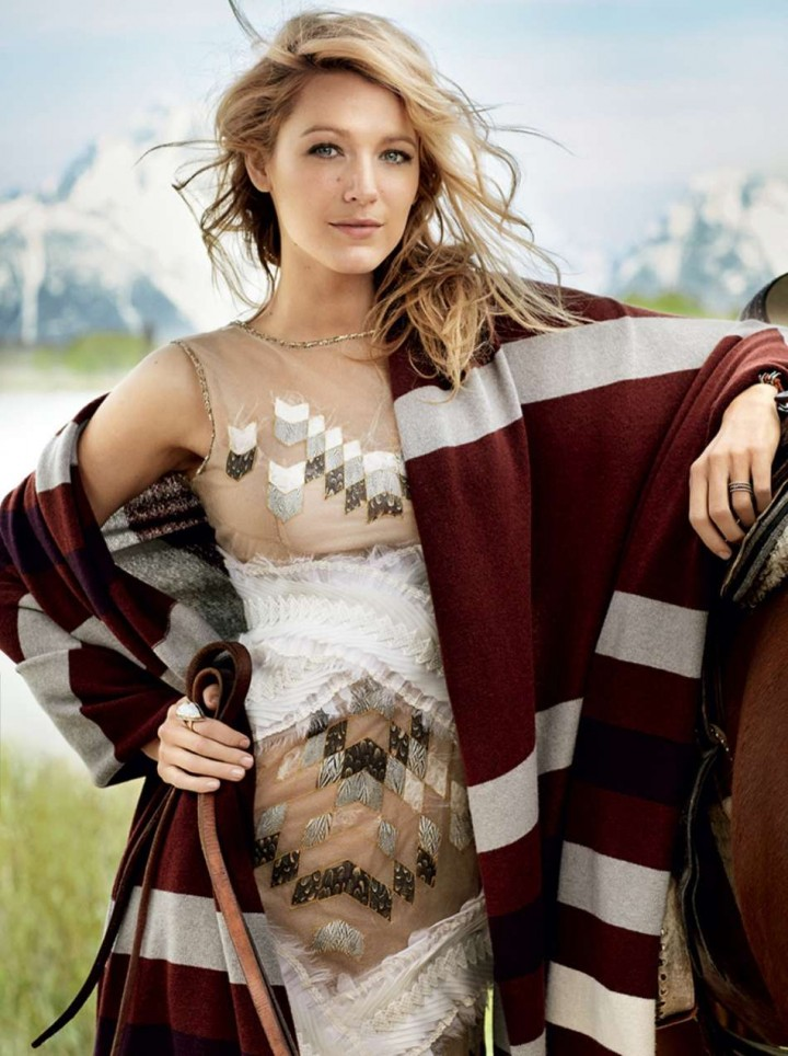 Blake Lively – Vogue Magazine (August 2014)