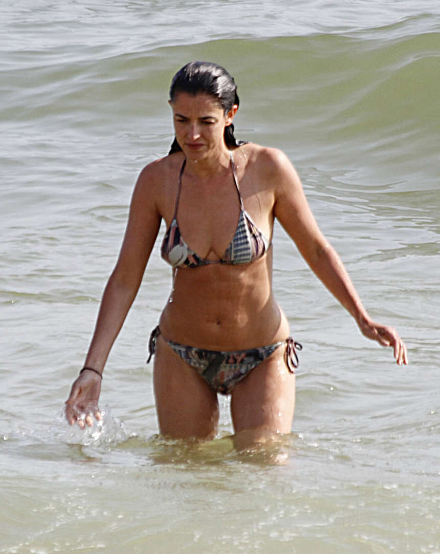 blanca romero wearing bikini in huelva spain 11 gotceleb
