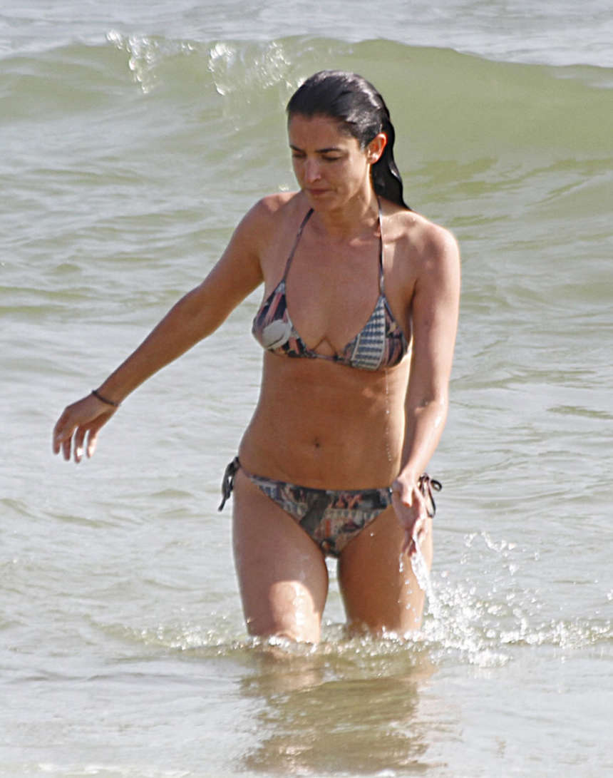 blanca romero wearing bikini in huelva spain 13 gotceleb