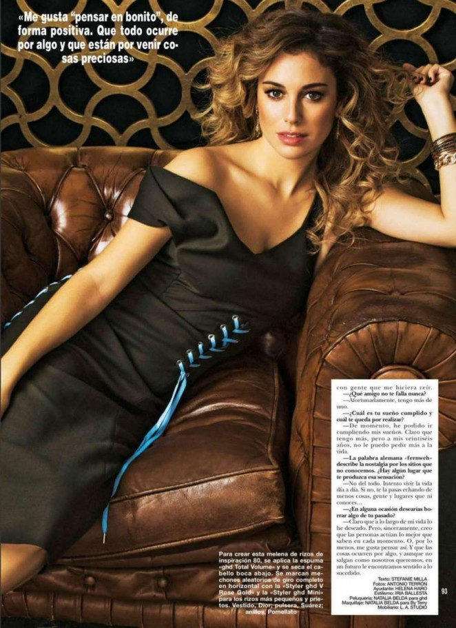 Blanca Suarez - Hola Spain Magazine (October 2014)