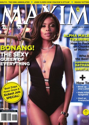 Bonang Matheba: Maxim South Africa -01