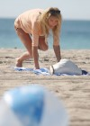 Brandi Glanville - Bikini Candids on the beach in LA -01