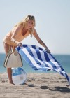 Brandi Glanville - Bikini Candids on the beach in LA -17
