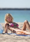 Brandi Glanville - Bikini Candids on the beach in LA -21