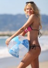 Brandi Glanville - Bikini Candids on the beach in LA -25
